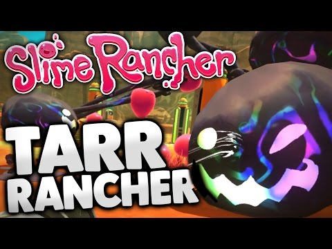 Slime Rancher - Ep  14 - Testing Tarr in the Grotto Cave