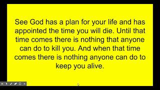 Nothing can kill you!