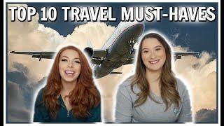 FLIGHT ATTENDANTS REVEAL THEIR TOP 10 TRAVEL ESSENTIALS
