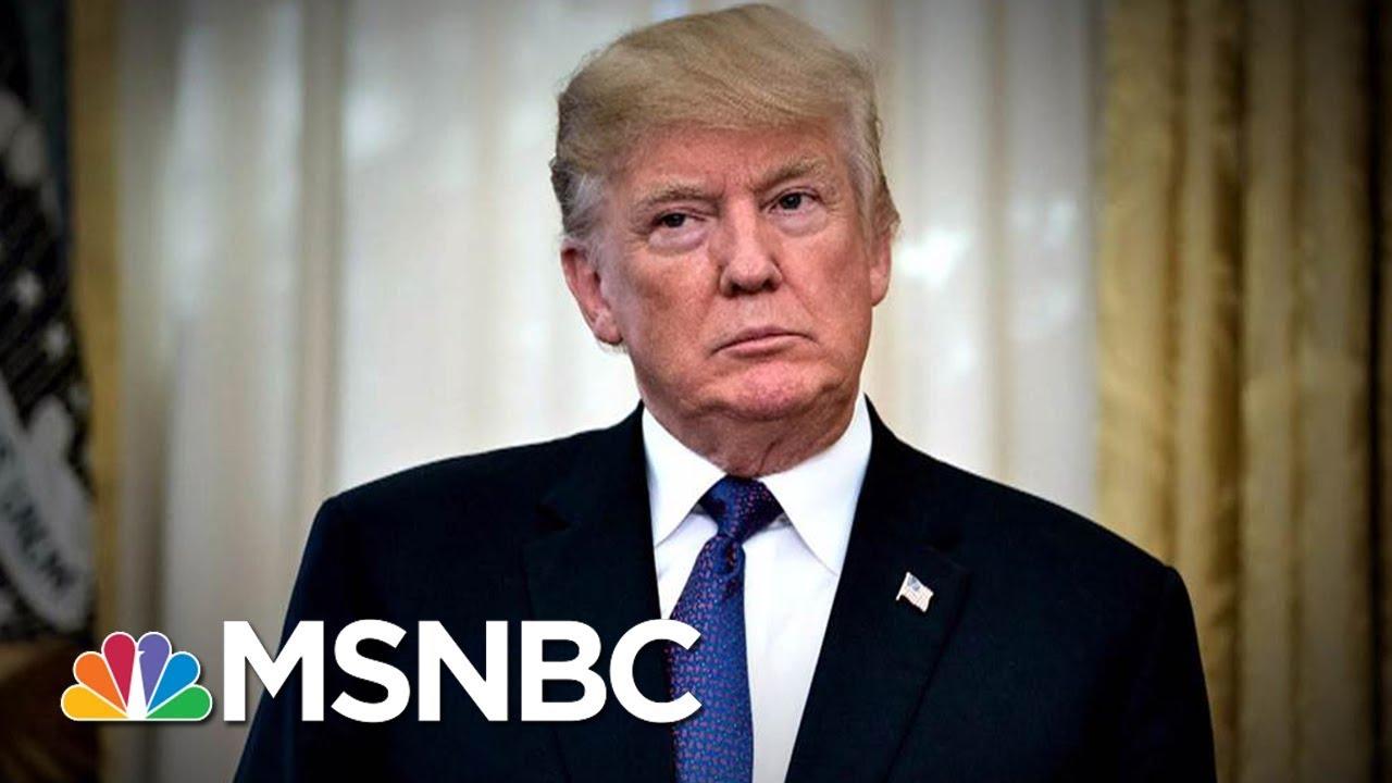 President Donald Trump Latest Tweetstorm Targets FBI, Russia Dossier   MSNBC thumbnail