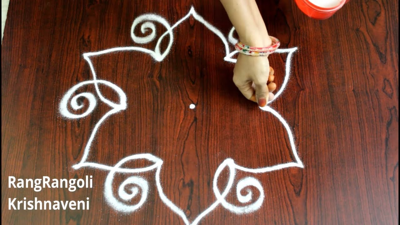"<p style=""color: red"">Video : </p>Easy Rangoli for Ganesh Chaturthi 
