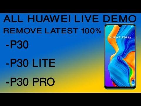 Huawei P20 Demo Mode Remove