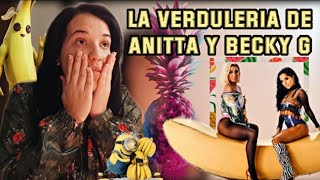 Anitta With Becky G - Banana | REACCIÓN
