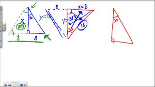 5.8 Special Right Triangles 30-60-90
