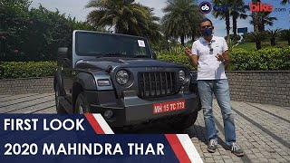 2020 Mahindra Thar First Look - Download this Video in MP3, M4A, WEBM, MP4, 3GP