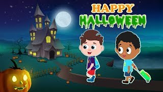 Red Super Car Help Little Kids from Halloween Scary Flying Shark Chase - Video for Children