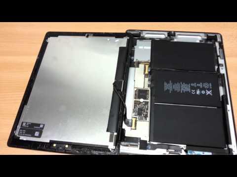iPad 2 easy solution fix repair for no backlight/dim backlight problem (NO soldering)
