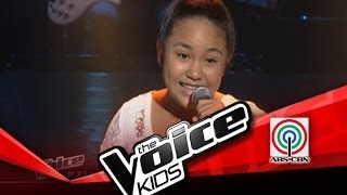 """The Voice Kids Philippines Blind Audition """"Kulasisi"""" by Rein"""