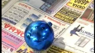 Смотреть онлайн Необычные елочные игрушки своими руками