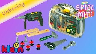 Bosch Werkzeugkoffer mit Akkuschrauber Kinderspielzeug