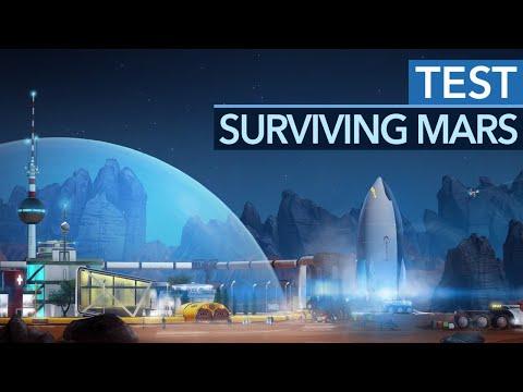 Surviving Mars im Test - Kniffliger Städtebau auf dem roten Planeten