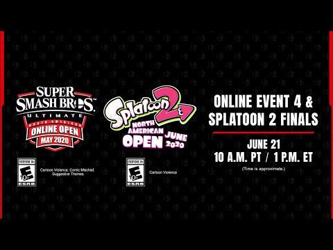 Super Smash Bros. Ultimate & Splatoon 2 - North American Online Open June 2020 Finals