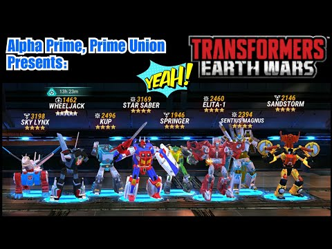 New gameplay on how to level your bots fast! Transformers: Earth Wars