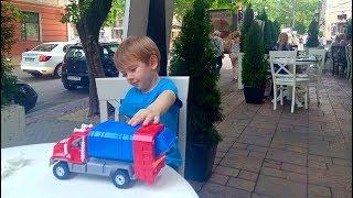 Машинка Мусоровоз Видео для детей