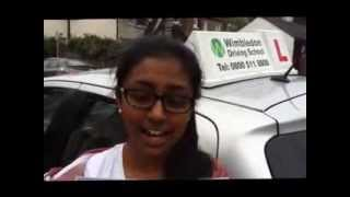 preview picture of video 'Driving School in Tooting Helped Kumuthine Sivasithamparam Pass Her Driving Test'