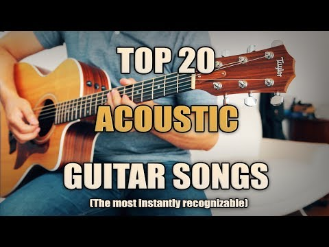 Top 20 Best Acoustic Songs | Intros