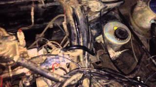 VW Golf 2 1.3i. Работа двигателя