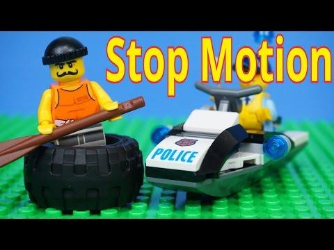 Vidéo LEGO City 60126 : L'évasion du bandit en pneu