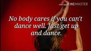 Inspiring Dancing Quotes