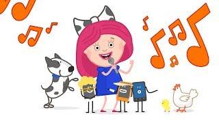 Песенки из мультфильма Смарта и чудо сумка -  Видео для детей