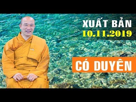 Ai có duyên lắm mới nghe được bài giảng tuyệt hay này của Thầy Thích Trúc Thái Minh
