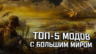 S.T.A.L.K.E.R.: TOP 5 modifications from the larger world