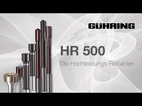 HR 500 - Die Hochleistungs-Reibahlen