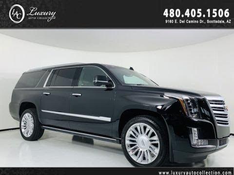 Pre-Owned 2018 Cadillac Escalade ESV Platinum