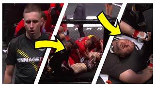 Fame MMA 2 WSZYSTKIE WALKI - highlights *magical złamał nogę*