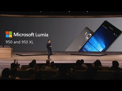 Microsoft Lumia 950/950 Dual SIM[5.2 inch QHD display,Hexa-Core processor Windows 10 smartphone]