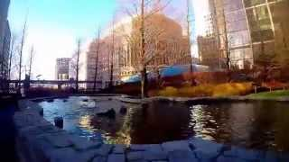 preview picture of video 'A walk journey Canary Wharf,UK'