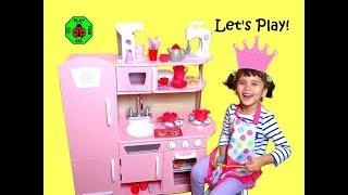 Kid Kraft Vintage Pink Kitchen For Kids + Play Cooking | itsplaytime612