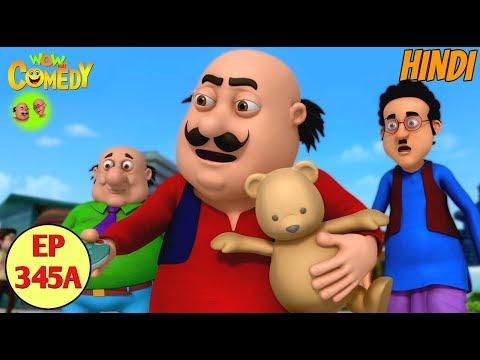Motu Patlu 2019 | Cartoon in Hindi| Motu Ka Teddy Bear  |3D Animated Cartoon for Kids
