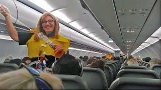 World's Funniest Flight Attendant Leaves Passengers In Hysterics