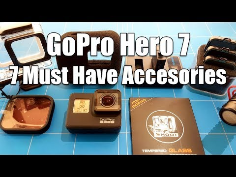 GoPro Hero 7 Black 7 Must Have Accessories Budget Starter Kit To Protect and Improve