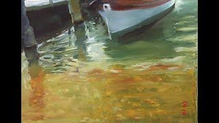 水面的垂直空間