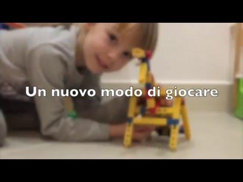 Costruzioni per bambini - Infiniti modelli in un solo set di gioco.