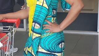 How To Wear Kitenge Or Ankara, Kanga (sarong) Wrap Around Scarf . The Bes Way ,Congolese Fashion.