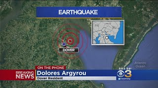 Dover Resident Shares Earthquake Experience