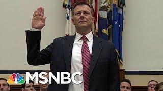 FBI Agent Peter Strzok Fired Over Anti-Trump Texts   Velshi & Ruhle   MSNBC