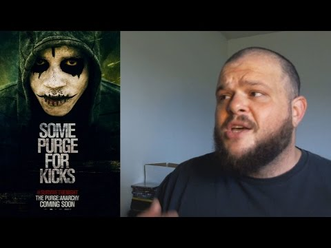 The Purge: Anarchy (2014) movie review horror action thriller