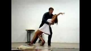 Dança de Salão - Linda Música Gospel - Dança Bolero - Aula de Bolero - Vem Dançar - Dança na Escola