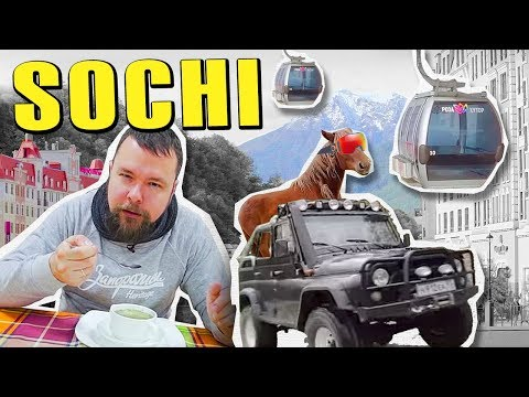 Sochi, Russia on $100. Mountains, Jeeps and Markets @Russia: Tips, Tricks & Travel