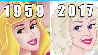 Топ 10 ДИСНЕЕВСКИХ  принцесс СПУСТЯ 30 ЛЕТ