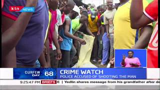 Crime Watch: Chaos rock Mathare\'s estate after murder of homeless man called Vaite