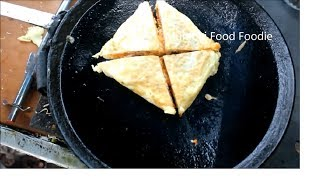 EGG WRAPPED MASALA TOAST @ Rs 60/- | AWESOME BREAKFAST | INDIAN STREET FOOD 2019