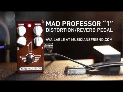 MAD PROFESSOR 1-Pedal Distortion Reverb Kytarový efekt