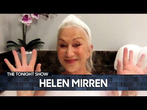 Helen Mirren Confronted a Wild Black Bear | The Tonight Show Starring Jimmy Fallon