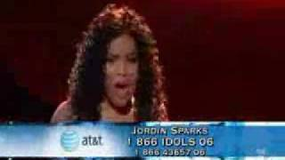 Jordin Sparks-*chipmunk*you'll never walk alone