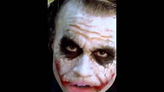 Funny Joker picture cut out mouth video